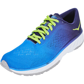 Hoka One One Cavu 2 Running Shoes Herre french blue/lime green